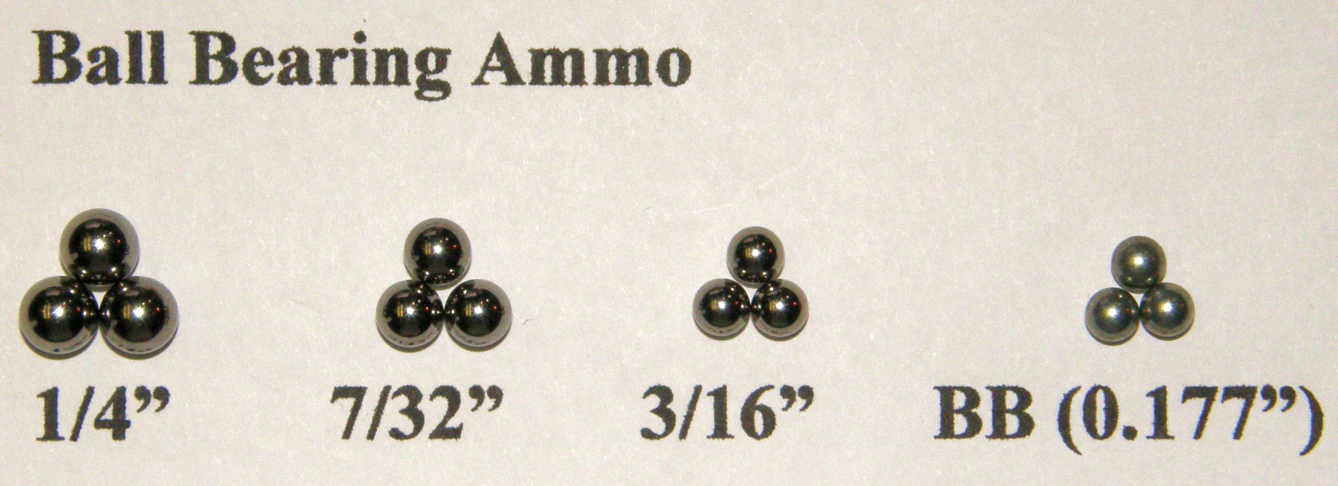 Ball Bearing Ammunition